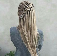 Penteado maravilhoso