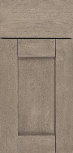 The Madrid cabinet door style has European elegance with modern, geometric designs, available in various wood types.