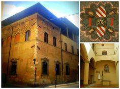 Palazzo Datini in Prato. House - Museum of The Merchant Francesco Datini