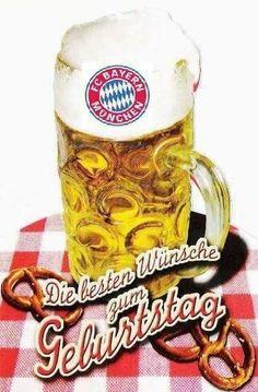 Birthday Posts Beer Girl Smileys Bayern Funny