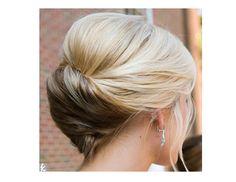 Hair « David Tutera Wedding Blog • It's a Bride's Life • Real Brides Blogging til I do! Short bob updo
