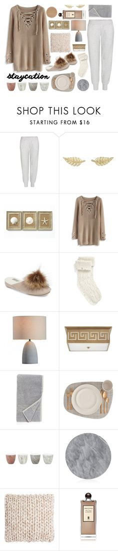 """""""Untitled #130"""" by fanfanfann ❤ liked on Polyvore featuring adidas, Jennifer Meyer Jewelry, Chicwish, Patricia Green, UGG, Nordstrom, Jayson Home, Bloomingville, Safavieh and Serge Lutens"""