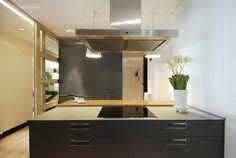SANTOS kitchen. Cocina Ariane | Santos Estudio Bilbao Poster, Mirror, Interior Design, Projects, Furniture, Bilbao, Home Decor, Kitchens, Decorating