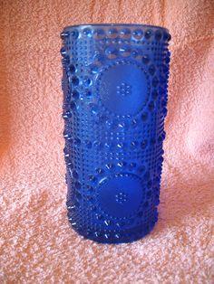 Grapponia vase by Nanny Still Yves Klein Blue, Stig Lindberg, Tom Of Finland, Glass Design, Scandinavian Design, Shades Of Blue, Glass Bottles, Be Still, Glass Art