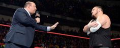 Justin Barrasso of Sports Illustrated reports that Paul Heyman has been pushing behind-the-scenes for WWE to give Samoa Joea run at the WWE Universal Title at SummerSlam. This would allow Lesnar time to start beginning his training for a UFC…