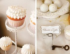 Love the key with wire and bling as a place card holder or even a photo or recipe holder!!!
