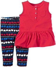 Carters 2 Pc Sets Red 9 Months >>> To view further for this item, visit the image link.