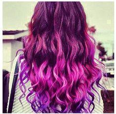 ombre hair purple - Google Search