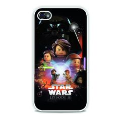 Lego Star Wars Movie Poster Episode 3 iPhone 4, 4s Case