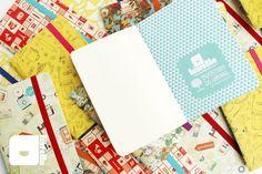 série Inventário de Sonhos - cadernos artesanais