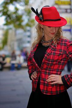 Bavarian punk chic girl :-) ...