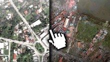 Typhoon Haiyan: Before and after Aerial images taken over the Philippines reveal the scale of devastation Ty