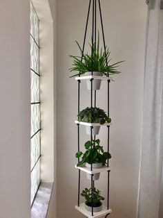 16 Ideas to decorate with plants your department - Modern House Plants Decor, Plant Decor, Diy Planters, Hanging Planters, Indoor Flowers, Indoor Plants, Flower Pot Design, Decoration Plante, Teen Room Decor