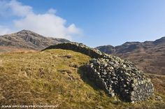 The Main Gate at Mediobogdum: Hardnott Roman Fort in Eskdale, Ravenglass, Cumbria