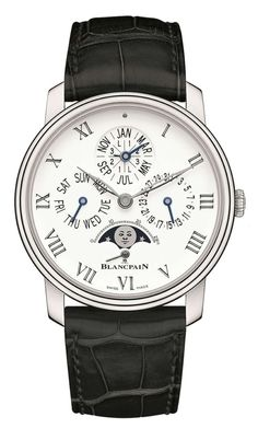 be8aee75906e0 Blancpain Villeret Perpetual Calendar with Humidor Expensive Watch Brands