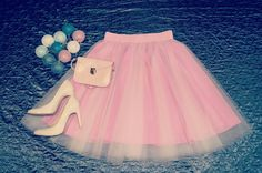 Pink classic tulle skirt handmade.  Order by message or visit my shop https://www.facebook.com/cheremyha.store
