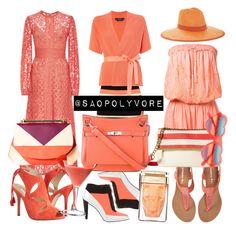 Monday (23/5/2016) by saopolyvore on Polyvore featuring ファッション, Elie Saab, Melissa Odabash, MaxMara, Ted Baker, Oscar de la Renta, Kenzo, Aéropostale, Hermès and DESA