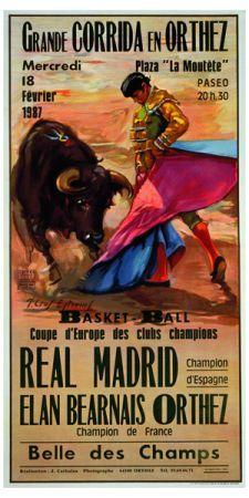 Bullfighting Giclee Art Print Grande Corrida