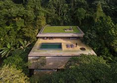 Jungle house in Sao Paolo.