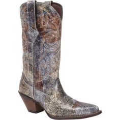 "Durango Crackle and Chrome 12"" Western Boot (Style # DCRD012) - Durango Boot Company"