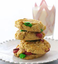 Holiday Peanut Butter Cookies