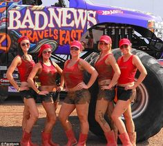 The vacation spot offers muddy swimming holes, mud bogs, a mud slip-and-slide, a mud run for trucks and ATVs, a muddy outdoor bar and ' Mud Girls,' the resort's own lovely dirt-caked cheerleaders. Description from dailymail.co.uk. I searched for this on bing.com/images