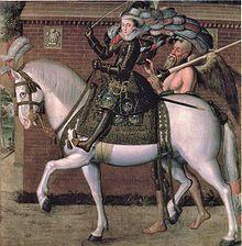 Robert Peake the Elder - Princess Elizabeth, later Queen of Bohemia, 1606; her grandson inherited the English throne as George I.