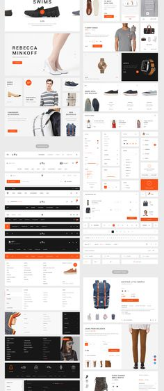 We examine the very best ecommerce website home builders, including Wix and Shopify-- don't begin creating an online shop till you've taken a look at . Rebecca Minkoff, Ui Design Mobile, Ecommerce Website Design, Ecommerce Websites, Homepage Design, User Interface Design, Web Design Inspiration, Design Trends, New Set