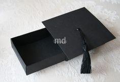 graduation cap match box