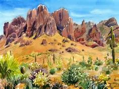 superstition mountains -
