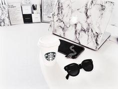 a814fab5d3 Stella McCartney falabella pouch Celine New Preppy Sunglasses Starbucks  Americano