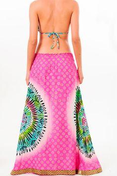 Paradizia Mandala Pink Skirt