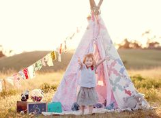 22 Play Teepees And Tents for kids (mostly indoor, a couple outdoor)