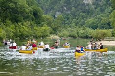 Ozark Mountains Camping Sites | buffalo camping and canoeing
