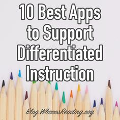 10 Best Apps to Support Differentiated Instruction differentiate classroom teachers edtech educationaltechnology lessons lessonplanning 366128644704468379 Differentiated Instruction Strategies, Differentiation Strategies, Differentiation In The Classroom, Instructional Strategies, Product Differentiation, Instructional Coaching, Teaching Technology, Teaching Resources, Technology Lessons