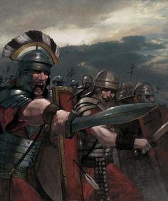 Roman centurion and legionaries, c. Ancient Rome, Ancient History, Imperial Legion, Roman Armor, Roman Centurion, Rome Antique, Roman Warriors, Roman Legion, Greek Warrior