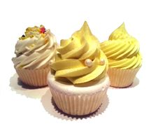 If you like lemon cupcakes or lemon pound cake, these little cupcake bath bombs are the perfect gift for yourself or a friend.  They smell delicious!  $8.75 at www.likecottoncandyshop.etsy.com