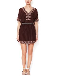 Embroidered Cotton Dress by KAS