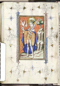 Book of Hours, MS M.866 fol. 137v - Images from Medieval and Renaissance Manuscripts - The Morgan Library & Museum