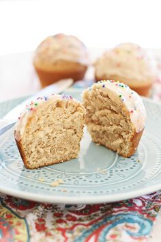 Glazed Doughnut Muffins - combining two favorites into one treat: doughnut, muffins, and glazed with sugar. Sinfully good and you'll want more   rasamalaysia.com