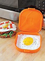 Microegg - Microwave Egg Cooker | Solutions --- probably not an outdoor thing ... but this is awesome!!!