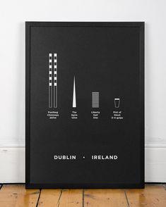 me&him&you Dublin Screenprint poster