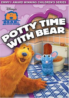 Bear In The Big Blue House - Potty Time With Bear, 2002 Parents' Choice Award Gold Award - DVDs #DVD