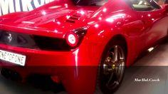 FERRARI 458 SPIDER - INTERNATIONAL PRAGUE CAR FESTIVAL