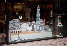 Brand Activation * window display for Clérigos IN store on Behance