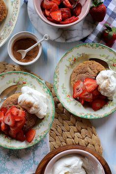 Joy the Baker: Snickerdoodle Strawberry Shortcakes