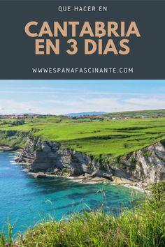 #Cantabria tiene infinidad de escenarios fascinantes. Playa, montaña, bosque. Piérdete en ella en 3 días y conseguirás una escapada inolvidable  #España #EspañaFascinante #Escapada #Viajes #Turismo #Senderismo #Naturaleza #Playa #Costa #Montaña #Cultura Santa Ana, Places To Go, Seaside, Elopements, Trekking, Paths