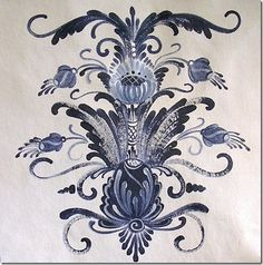 scandinavian folk art   Scandinavian folk art painter   My Heritage