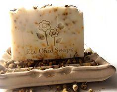 Neroli Chamomile Shea Butter Soap  Vegan by EcoChicSoaps