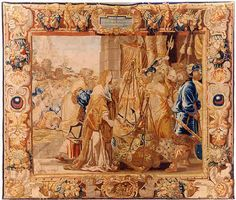 Leyniers Everaert, A BRUSSELS BAROQUE MYTHOLOGICAL TAPESTRY (TPY 17)